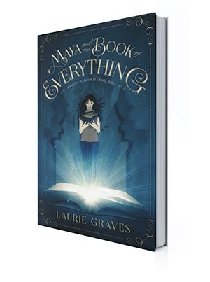 Maya and the Book of Everything 3D Book Cover