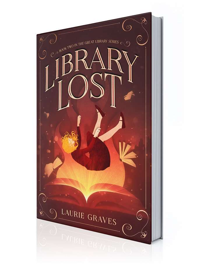 Library Lost 3D Book Cover